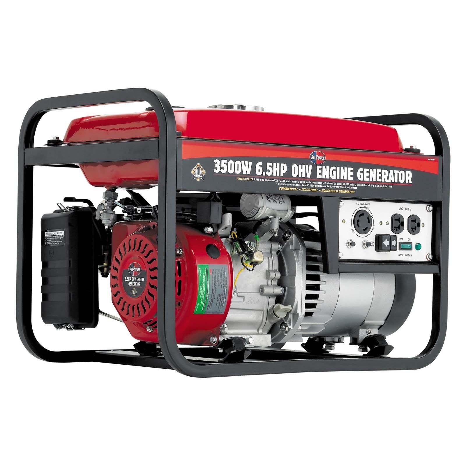 Generators All Power 6 5HP Gas Powered Buysmartt