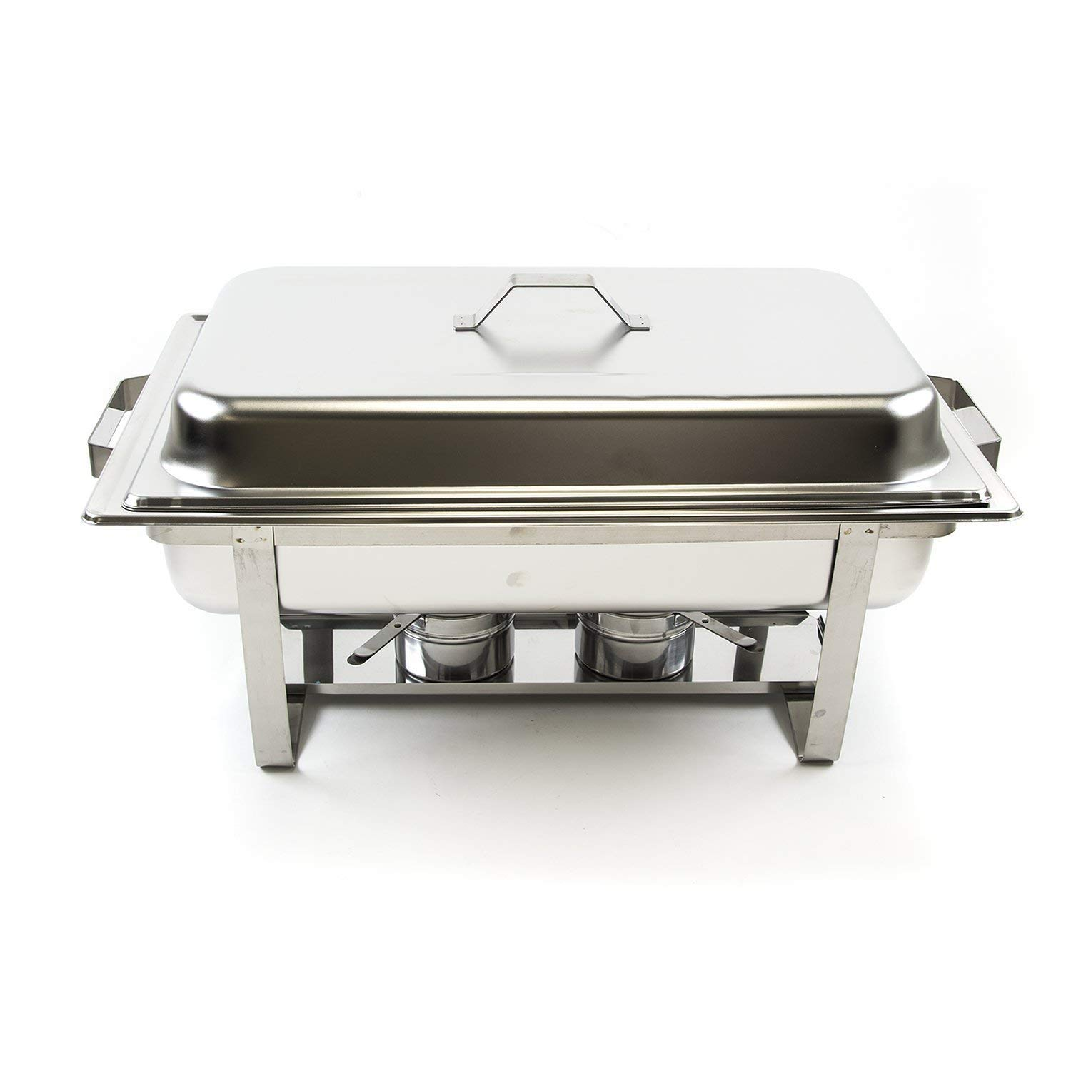 Chafing Dishes Stainless Steel 8 Quart Rectangular