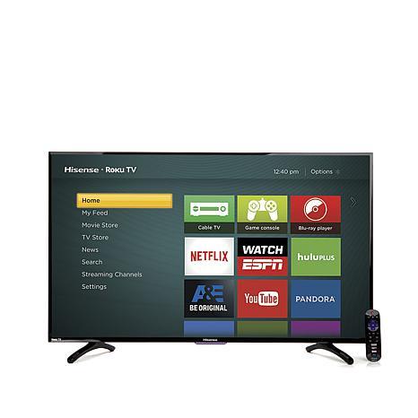 Smart LED HDTV - Hisense 40