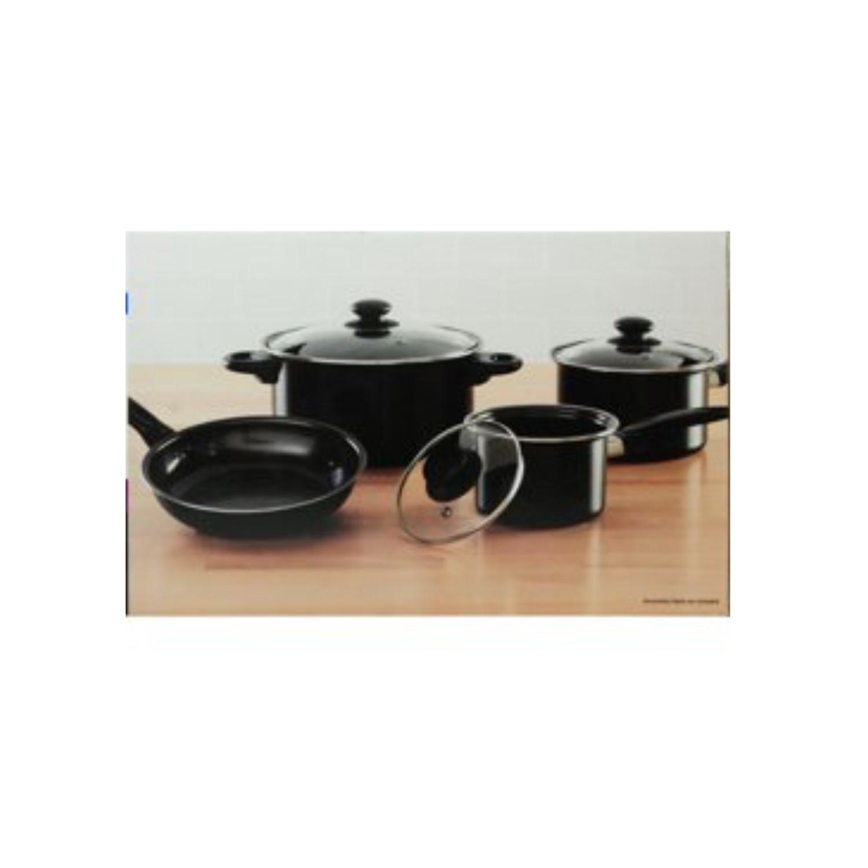 Mainstays 7 Piece Non Stick Cookware Set